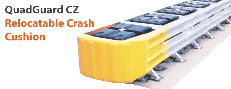 quadguard crash cushion